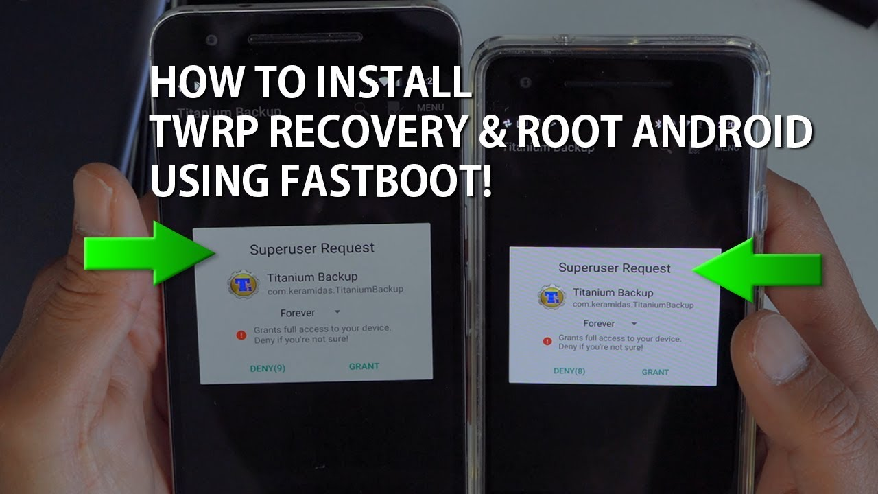 How to Install TWRP Recovery & Root w/ Magisk using Fastboot! [Universal  Method]