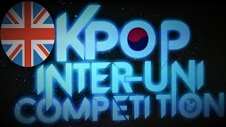KPOP INTER UK UNI COMPETITION HOSTED BY KEELE'S KPOP SOCIETY