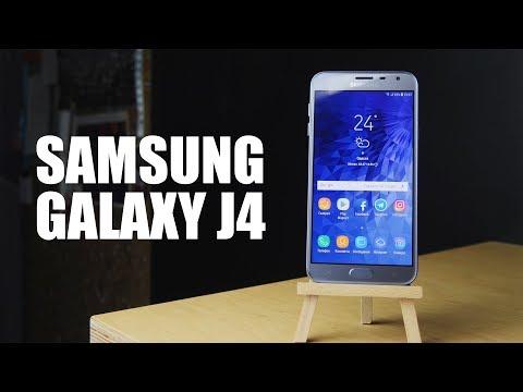 Обзор Samsung Galaxy J4 2018