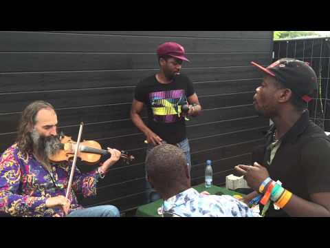 "Jupiter & Okwess international and Warren Ellis: ""Pondjo"""