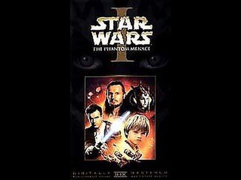 Opening To Star Wars Episode I The Phantom Menace 1999 Vhs Youtube