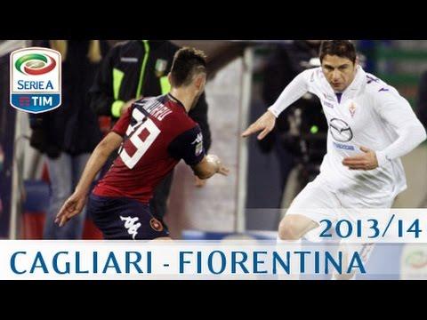 Cagliari - Fiorentina - Serie A 2013/14 - ENG