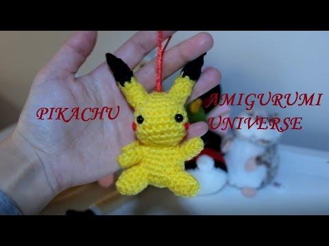 PATTERN: Pikachu Amigurumi, Pikachu Crochet Pattern, Detective Pikachu  Amigurumi Pattern, Pikachu Toy, Pokemon Crochet Pattern | Amigurumi | 360x480