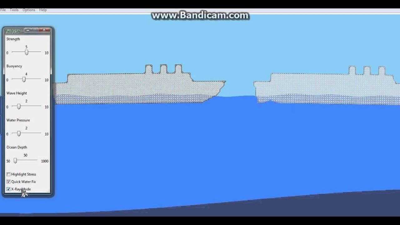 Симулятор потопа корабля скачать