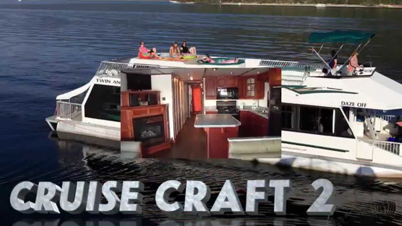 Twin Anchors Houseboats Cruisecraft 2 Youtube