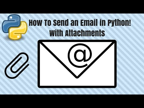 How To Send an Email in Python With Attachments Easy for Beg