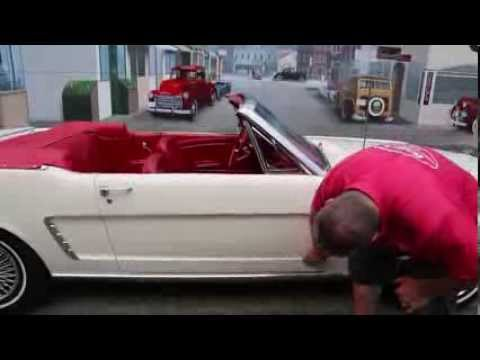 """1964 1/2  Ford Mustang Convertible  """" SOLD """"  Drager's International Classic Sales  206-533-9600"""