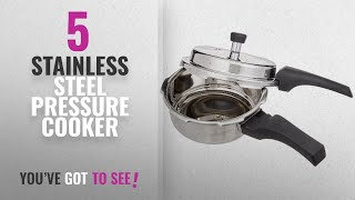 Top 10 Stainless Steel Pressure Cooker [2018]: Prestige Deluxe Alpha Outer Lid Stainless Steel