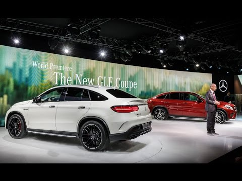 Mercedes GLE Coupé: Expert Talk in Detroit 2015