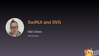 SwiftUI and SVG - iOS Conf SG 2020