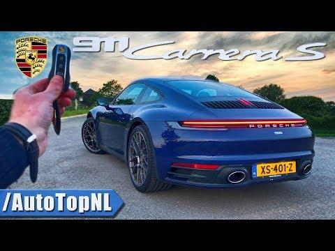 Porsche 911 992 Carrera S REVIEW POV Test Drive on AUTOBAHN & ROAD by AutoTopNL