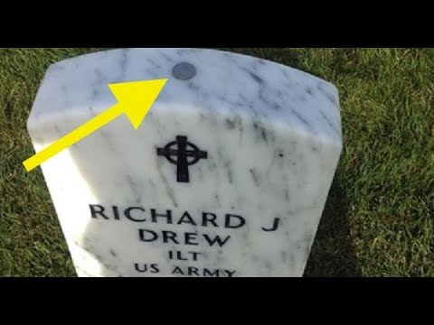 If You Ever See A Quarter Resting On Top Of A Grave Stone, Don't Touch It !