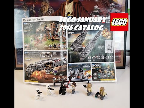 LEGO January 2016 Catalog: Return Of Bionicle? Episode 7 Sets + DR Who Set! & Shield Helicarrier...