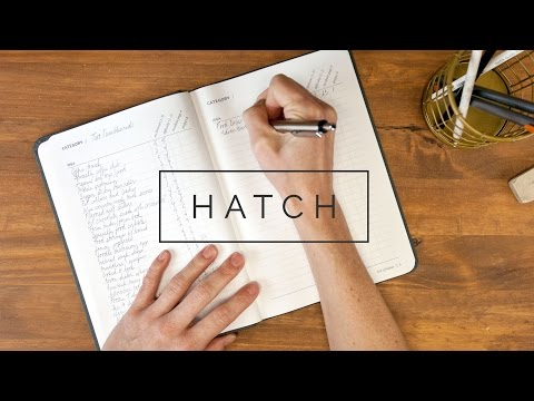 Hatch - A notebook for makers & entrepreneurs