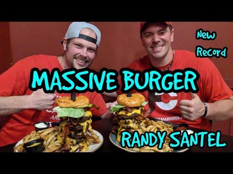 rebecca 39 s revenge burger challenge 5lbs randy santel millvale pa youtube. Black Bedroom Furniture Sets. Home Design Ideas