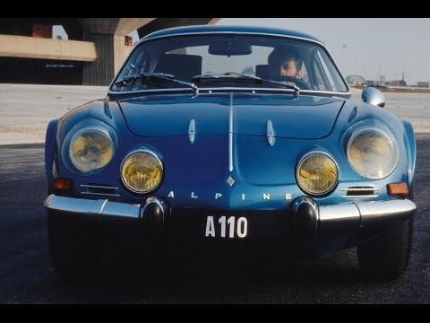 Renault Alpine A110 History