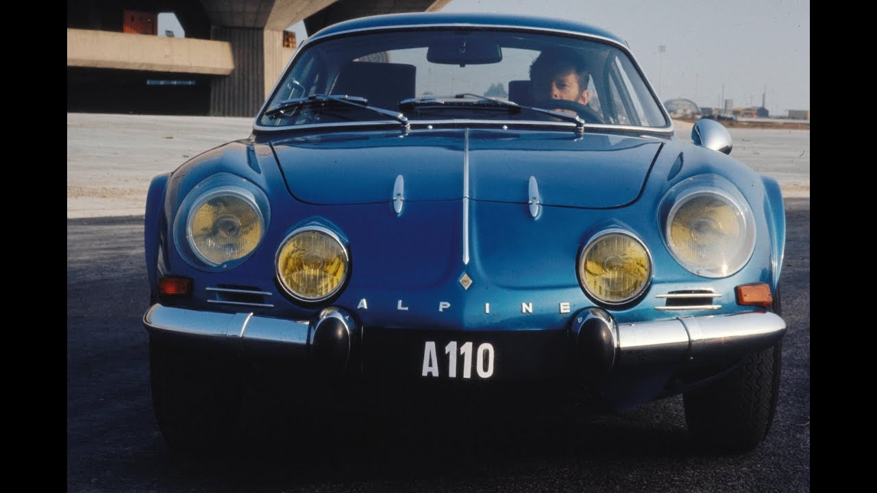 Renault Alpine A110 History Youtube