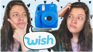 I Bought a CHEAP Fujifilm Instax Mini 9 Polaroid Camera off WISH + UNBOXING&REVIEW
