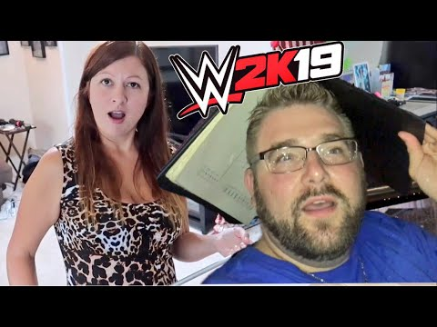 WWE 2k19 Dinner Event  My Wife Saw What I Said About Her