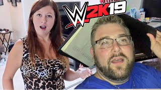 WWE 2k19 Dinner Event - My Wife Saw What I Said About Her