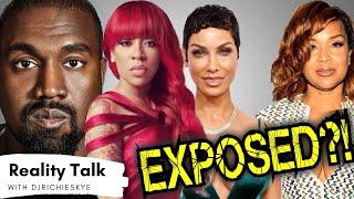K. Michelle Exposed?! Lisa Raye Drags Nicole Murphy Again, Kanye West Meltdown?