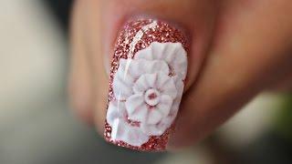 Encapsulated 3D Rose #notpolish