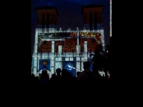 San Fernando Cathedral Light Show