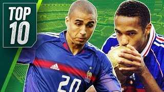 Best France Football Players Ever ft. Zidane, Henry and Deschamps