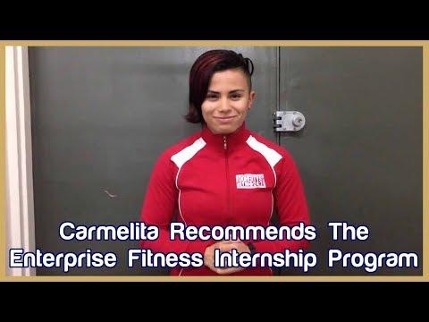 Carmelita from Adelaide recommends Enterprise Fitness' Internship Program