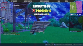 FORTNITE NEW UPDATE 10 VINSTER I RAD!! FREE V-BUCKS AT 200 SUBS!! (Svenska)