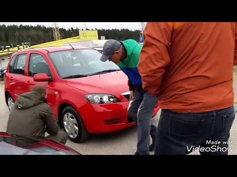 Mazda 2 2005 God 2000 Euro куплена под нашего туриста / как мы выбирали авто, реальное видео