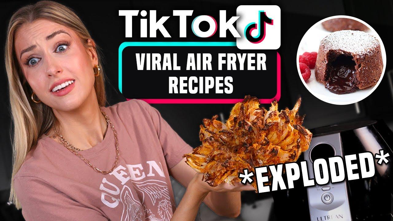 Download I Tried Making VIRAL AIR FRYER RECIPES I Found on TIK TOK!!