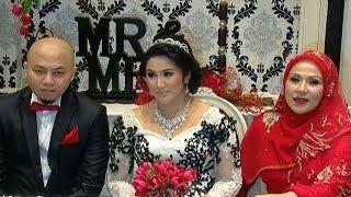 suasana pernikahan putri pertama camelia malik hot shot 28 september 2014