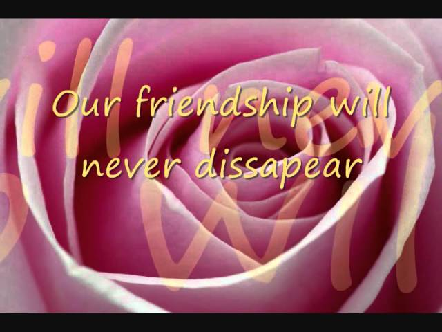 English poem in on friendship 15 Poem