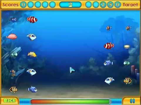 เกมส์ จับคู่สัตว์ทะเล