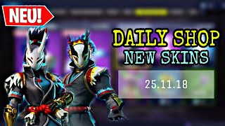 FORTNITE DAILY ITEM SHOP 25.11.18 | NEUER TARO & NARA SKIN!!