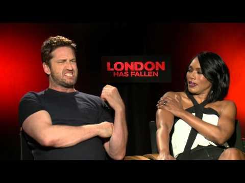 London Has Fallen: Gerard Butler & Angela Bassett Official Movie Interview