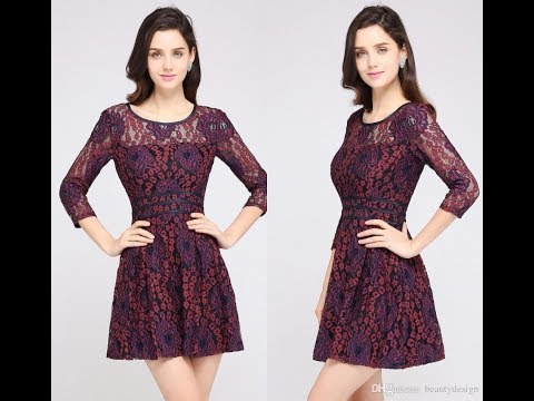 latest-short-dress-design-|-new-frock-design-collection-|