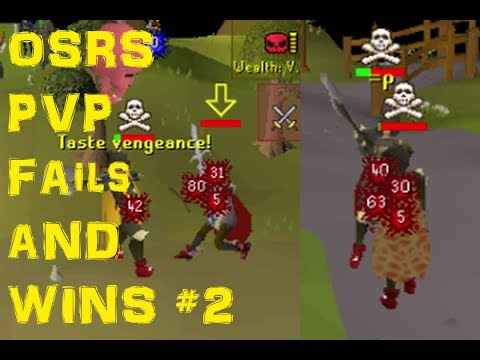 PvP Humorous/Fail/Random Moments   Episode 2 (Oldschool Runescape)