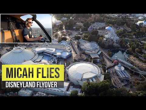 Helicopter View of Disneyland | L.A. Shutdown