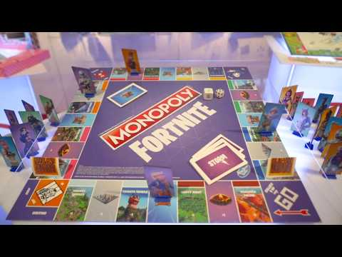 MONOPOLY FORTNITE Edition Hands-on With The Battle Royale Board Game