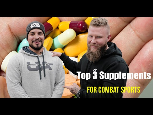 3 Best Performance Supplements for Combat Sports