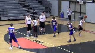 Ashland, Oregon vs South Medford, Oregon; 8th Grade AAU Basketball; 29 Jan 2012 1 of 5