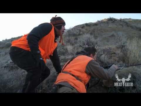 Bryan Callen Picks Cactus Needles Out of Joe Rogan's Ass After a Hunt with Steven Rinella