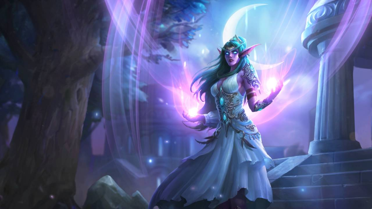 New Hearthstone Priest Tyrande Whisperwind Available Now For Twitch Prime Members