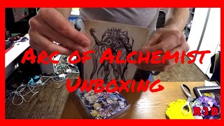 Arc of Alchemist Limited Edition Unboxing | PS4