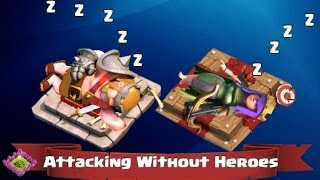 Clash of Clans Attacks - Winning Without Heroes!