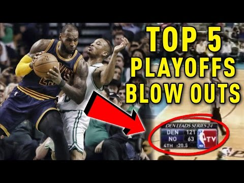 TOP 5 Worst Losses In NBA Playoffs History!!