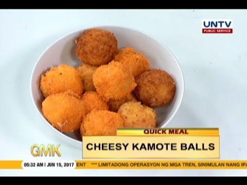 Cheesy Kamote Balls | Quickmeal