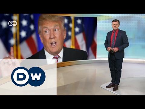 Белый дом - не место для дискуссий? - DW Новости (31.01.2017)